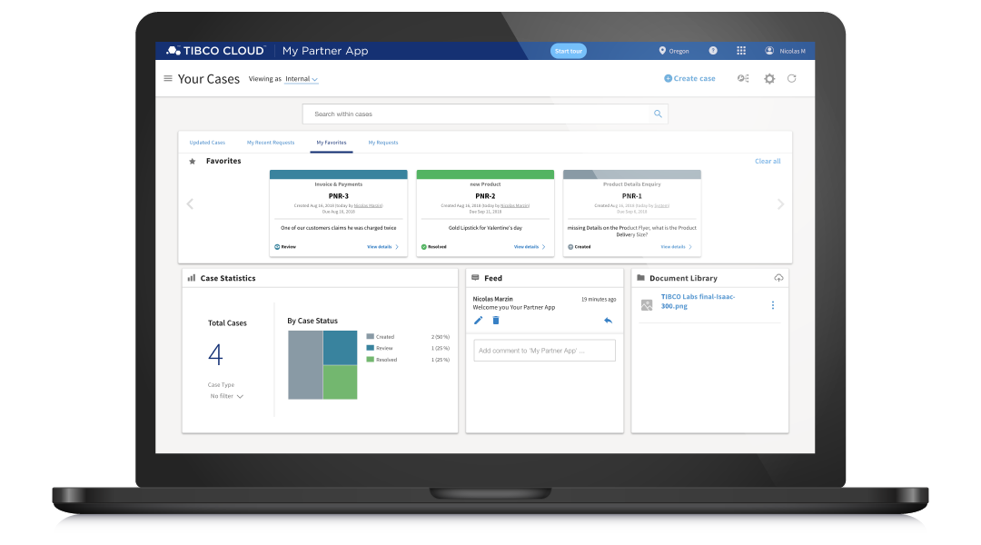 TIBCO Cloud My Partner App